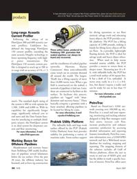 Marine Technology Magazine, page 56,  Mar 2007 Gulf of Mexico