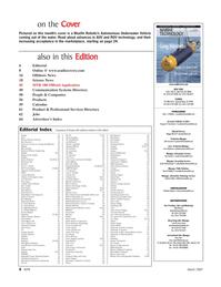 Marine Technology Magazine, page 4,  Mar 2007