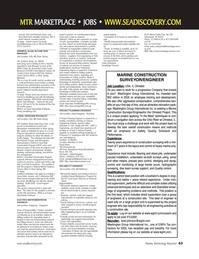 Marine Technology Magazine, page 63,  Mar 2007 HR Office