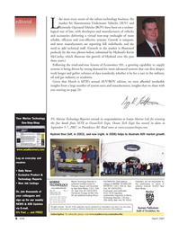 Marine Technology Magazine, page 6,  Mar 2007