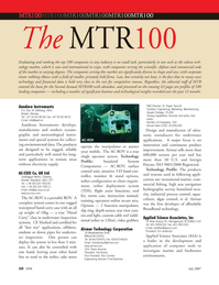 Marine Technology Magazine, page 10,  Jul 2007 Broadband technology