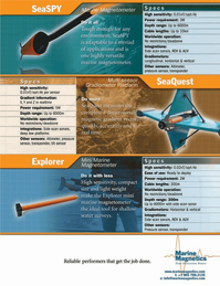 Marine Technology Magazine, page 1,  Jul 2007
