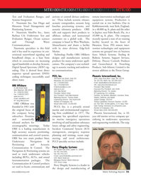 Marine Technology Magazine, page 31,  Jul 2007 California