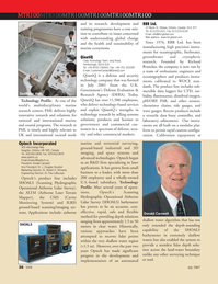 Marine Technology Magazine, page 36,  Jul 2007 Donald Carswell