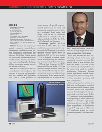 Marine Technology Magazine, page 38,  Jul 2007 sonar systems