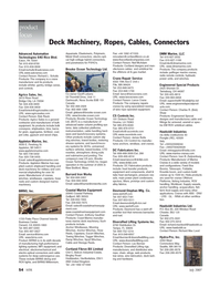 Marine Technology Magazine, page 54,  Jul 2007 Wisconsin