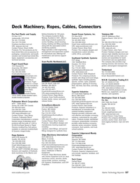 Marine Technology Magazine, page 57,  Jul 2007 Oregon