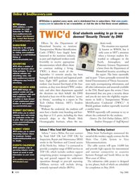 Marine Technology Magazine, page 8,  May 2008