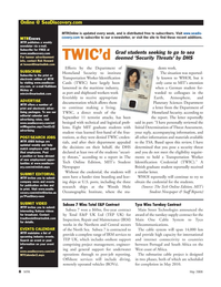 Marine Technology Magazine, page 8,  May 2008 Rob Howard