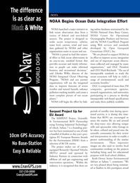 Marine Technology Magazine, page 10,  May 2008 Keith Dewar