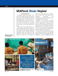 Marine Technology Magazine, page 12,  May 2008 Susan Giver