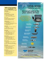 Marine Technology Magazine, page 13,  May 2008 Reynaldo Cervantes