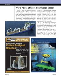 Marine Technology Magazine, page 18,  May 2008 main propulsion systems