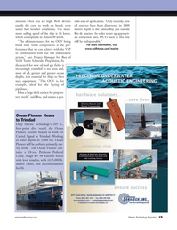 Marine Technology Magazine, page 19,  May 2008 oil and gas fields