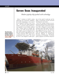 Marine Technology Magazine, page 20,  May 2008