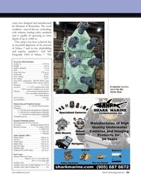 Marine Technology Magazine, page 21,  May 2008 Seven Seas