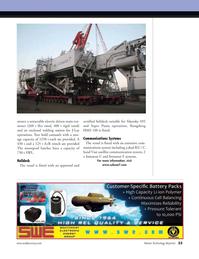 Marine Technology Magazine, page 23,  May 2008 satellite communication system