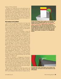Marine Technology Magazine, page 29,  May 2008 survey software