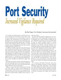 Marine Technology Magazine, page 36,  May 2008 White House