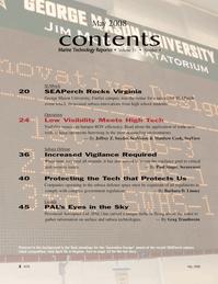 Marine Technology Magazine, page 2,  May 2008