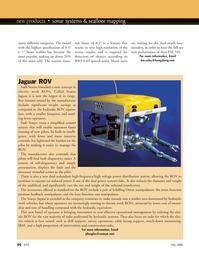 Marine Technology Magazine, page 56,  May 2008