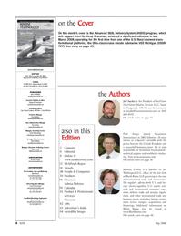 Marine Technology Magazine, page 4,  May 2008