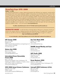 Marine Technology Magazine, page 59,  May 2008
