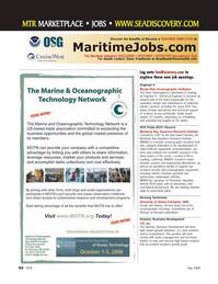 Marine Technology Magazine, page 62,  May 2008 Dawn Trauthwein