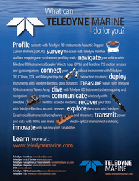 Marine Technology Magazine, page 4th Cover,  May 2008