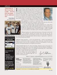 Marine Technology Magazine, page 6,  May 2008