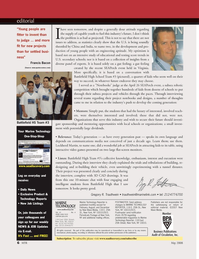 Marine Technology Magazine, page 6,  May 2008 Virginia