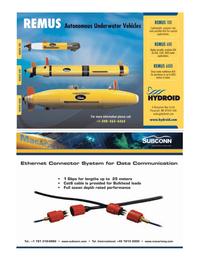 Marine Technology Magazine, page 7,  May 2008 coastal applications