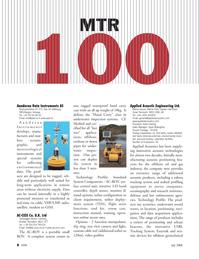 Marine Technology Magazine, page 8,  Jul 2008 long-term applications