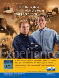 Marine Technology Magazine, page 9,  Jul 2008 California