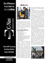 Marine Technology Magazine, page 10,  Jul 2008 Sean Rice