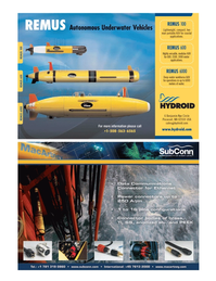 Marine Technology Magazine, page 15,  Jul 2008 coastal applications