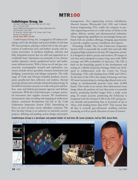 Marine Technology Magazine, page 18,  Jul 2008 Geoff Turner