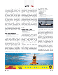 Marine Technology Magazine, page 22,  Jul 2008 Massachusetts