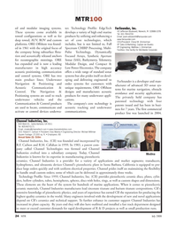 Marine Technology Magazine, page 24,  Jul 2008 Rhode Island