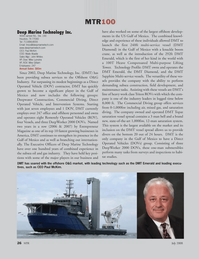 Marine Technology Magazine, page 26,  Jul 2008 John Whites