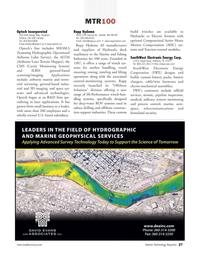 Marine Technology Magazine, page 27,  Jul 2008 Texas