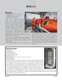 Marine Technology Magazine, page 28,  Jul 2008 Bob Acks