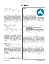 Marine Technology Magazine, page 31,  Jul 2008 key technologies