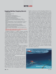 Marine Technology Magazine, page 34,  Jul 2008 British Columbia