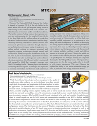Marine Technology Magazine, page 36,  Jul 2008 response technologies