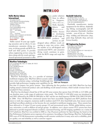 Marine Technology Magazine, page 37,  Jul 2008 Tony Ebel