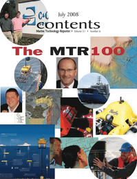 Marine Technology Magazine, page 2,  Jul 2008