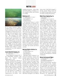 Marine Technology Magazine, page 43,  Jul 2008 California