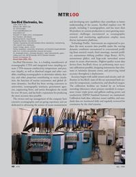 Marine Technology Magazine, page 48,  Jul 2008 Doug Bennett