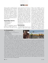 Marine Technology Magazine, page 56,  Jul 2008 undersea communications technology